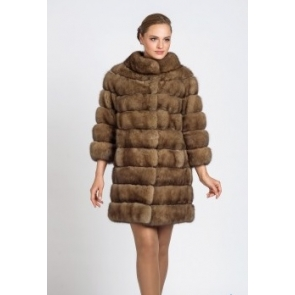 П/пальто из меха соболя A.Didone 93987