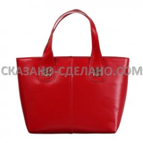 Женская сумка из натуральной кожи KPG