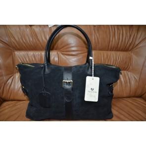 Замшевая сумка, производство Италия, фирма Marina Gray