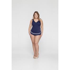 Сплошной купальный костюм с юбкой Bahama арт., 101-644/8:830119-420170