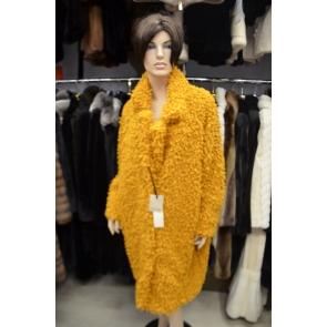 Итальянское пальто из эко меха, Barbara Alvisi, арт., OVER23 AFRO100/GALLO