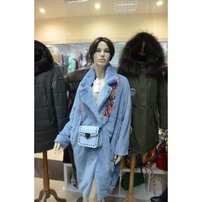 Пальто из эко меха,Barbara Aluisi