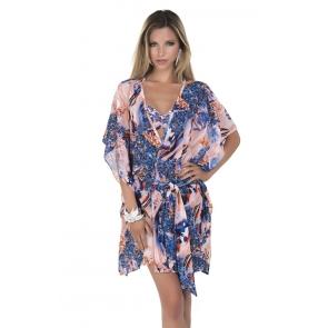 Венгерская, пляжная, длинная блузка Magistral - Jasmine 150JA-A230